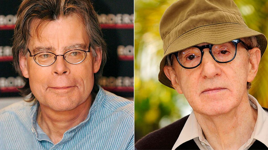 Stephen King  y Elvira Lindo defienden a Woody Allen del veto por presunto abuso sexual