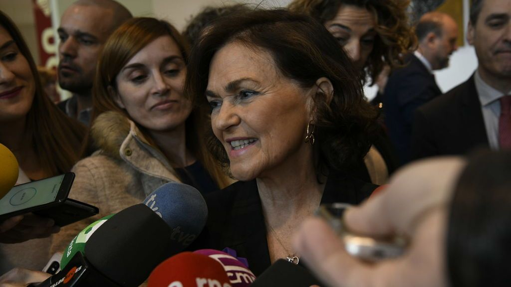 """El coronvirus está haciendo """"daño"""" a la economía española: Calvo reconoce que la """"situación""""  es """"complicada"""""""