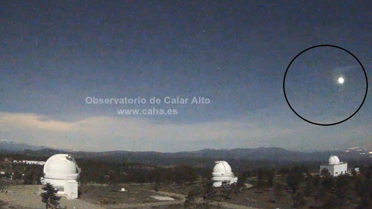 Una bola de fuego atraviesa España: se ha podido ver desde Almería, Granada y Sevilla
