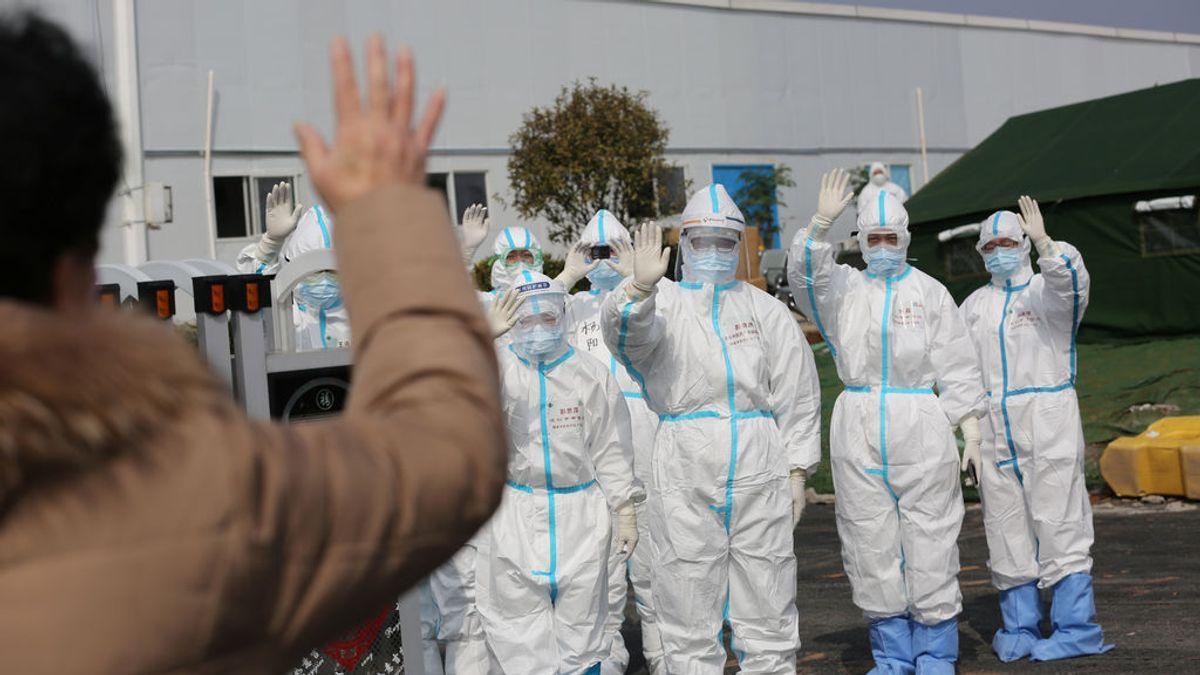 Los casos de contagio por el coronavirus en China se desploman