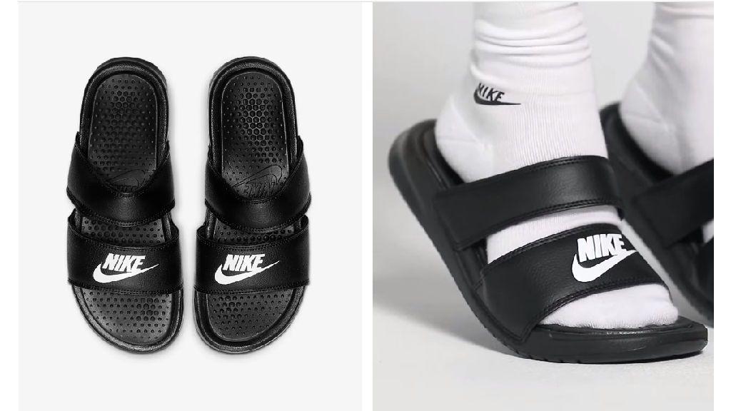 Las sandalias deportivas de Nike.