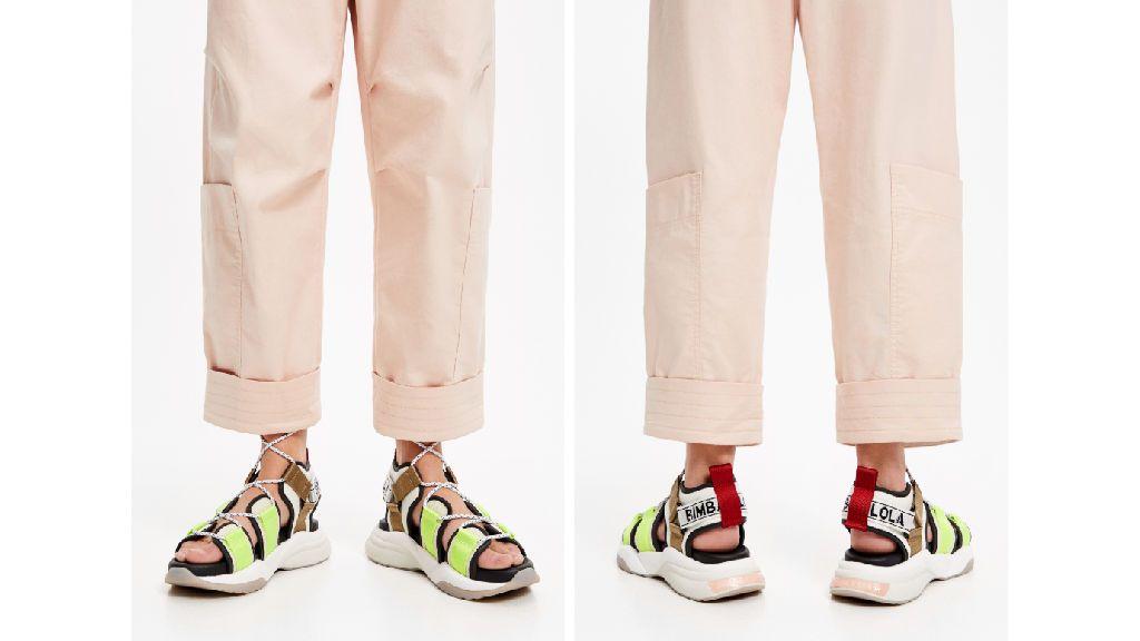 Las sandalias deportivas de Bimba y Lola.