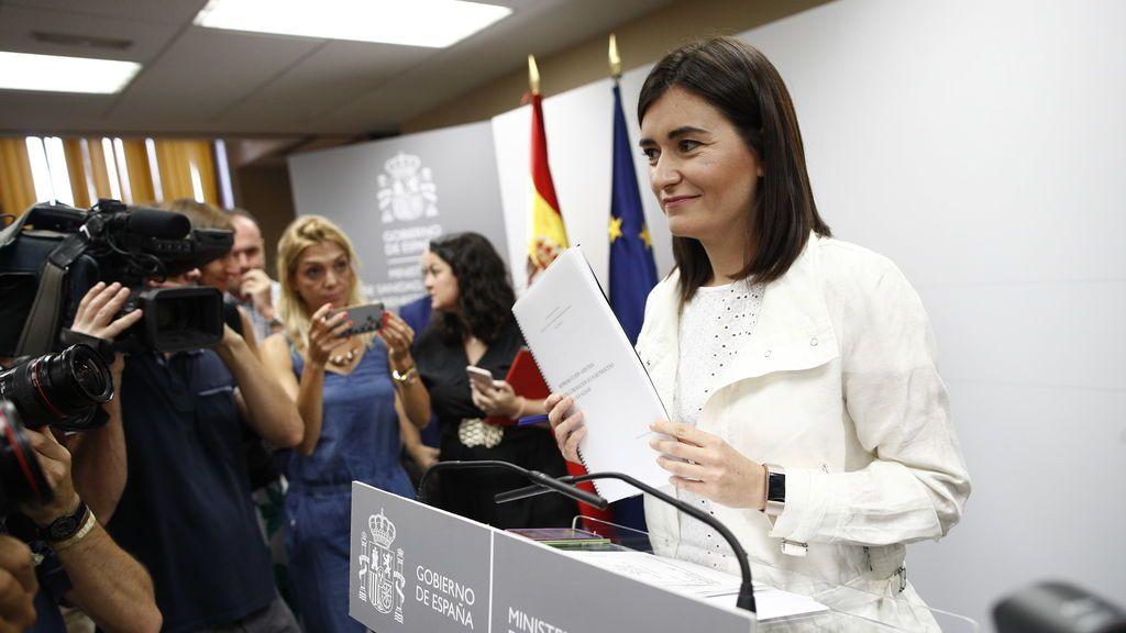 Sánchez nombra a la exministra Carmen Montón embajadora ante la OEA