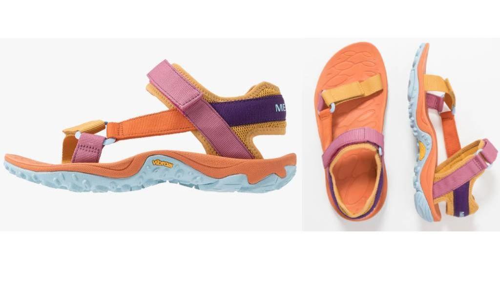 Las sandalias deportivas de Zalando.