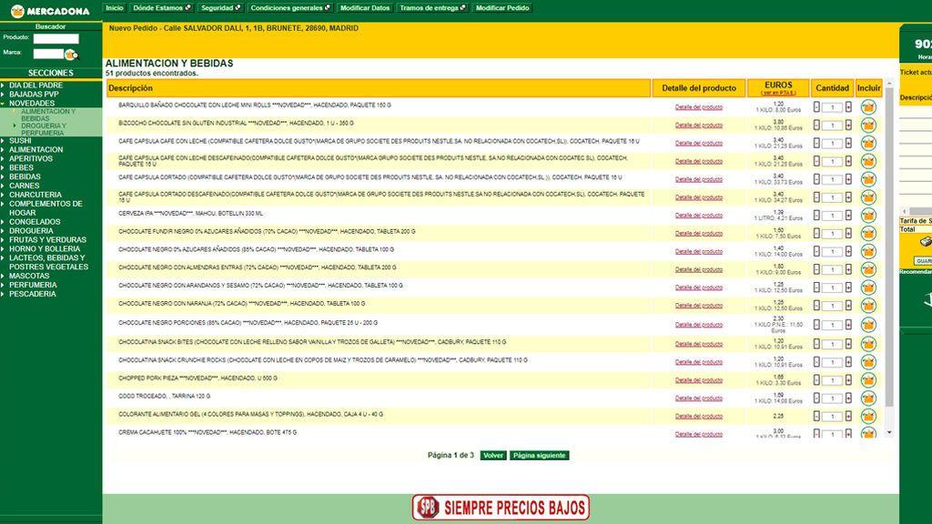 Web mercadona