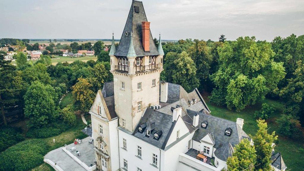 Planazo en un castillo de cuento de hadas: alquila un palacio por menos de 60 euros la noche