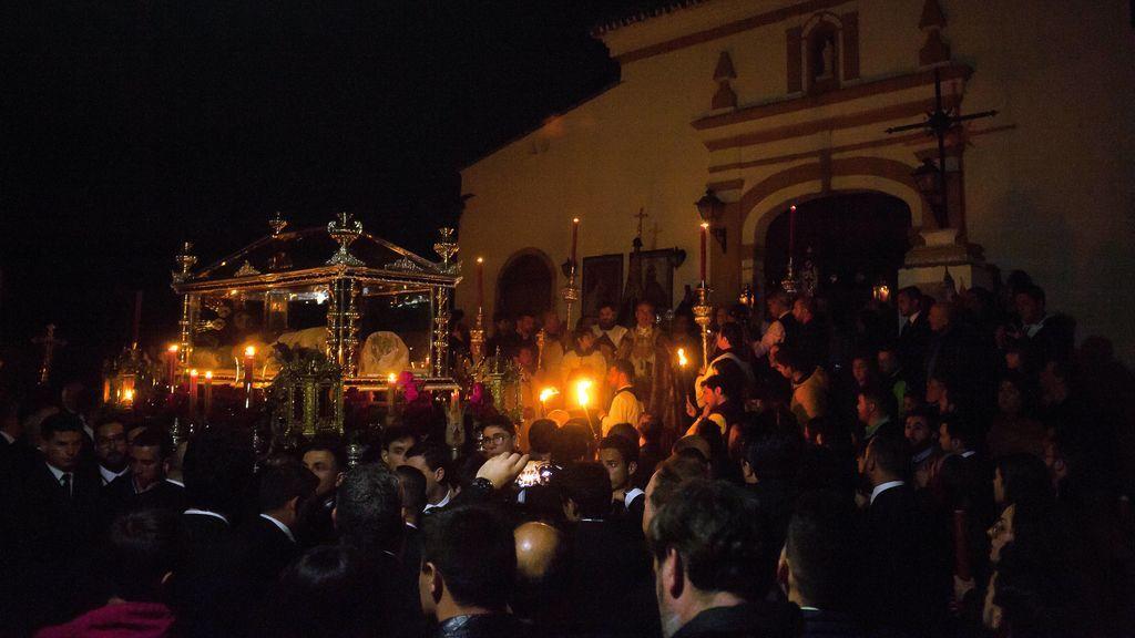 Procesión en Málaga