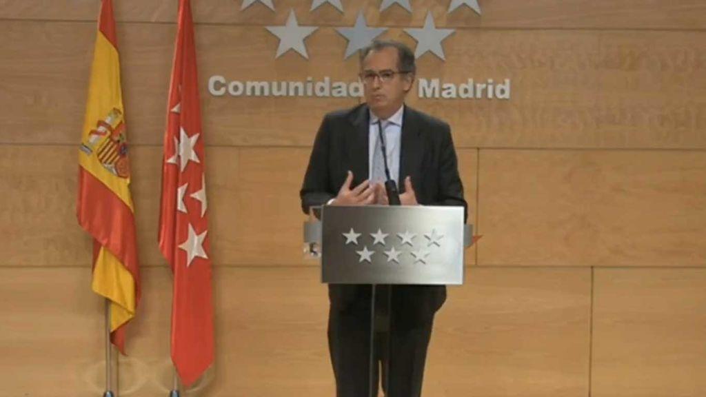 Madrid pide medidas de conciliación tras el cierre de los colegios y garantiza las clases a distancia