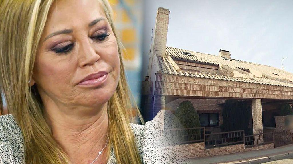 """'Sálvame' recrea cómo se ha encontrado Belén Esteban la casa que era de Toño Sanchís: """"Al entrar he pensado, vaya asco"""""""