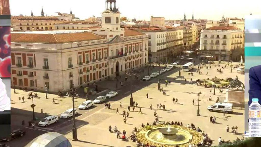 Madrid vacio por el coronavirus