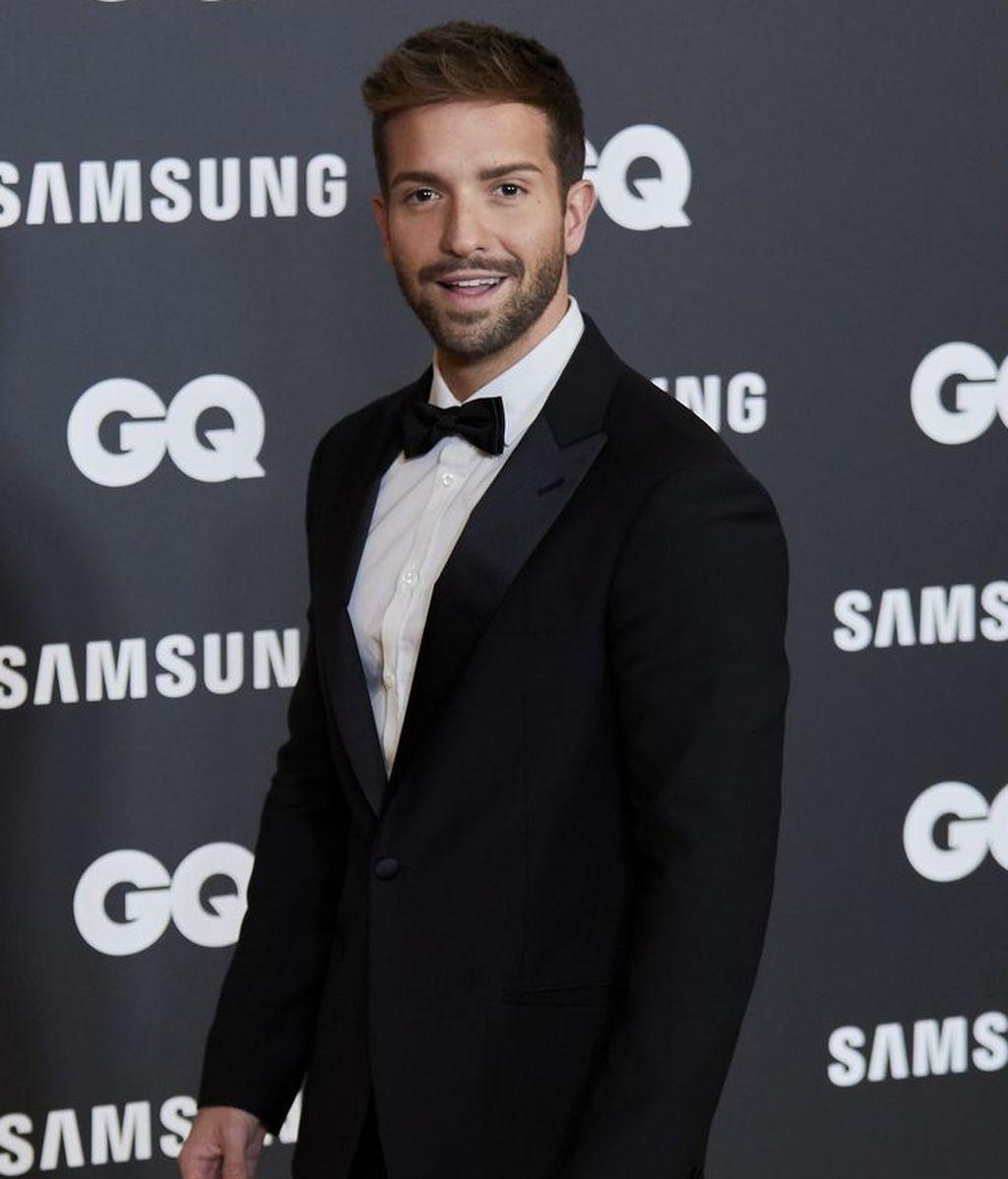 Pablo Alborán, en los Premios GQ