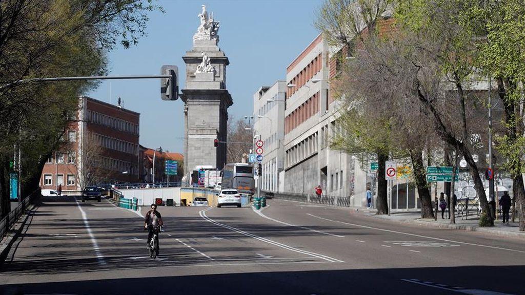Madrid, sin atascos por el coronavirus