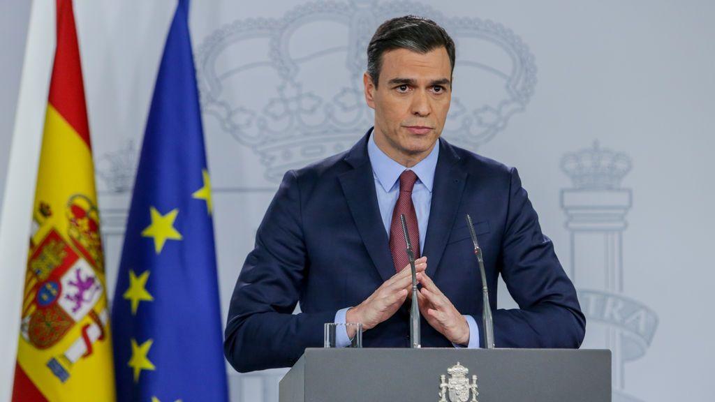 Pedro Sánchez comparece tras el consejo extraordinario