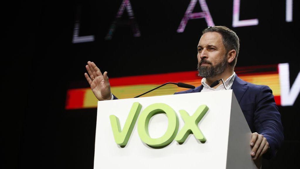 Santiago Abascal, positivo por coronavirus