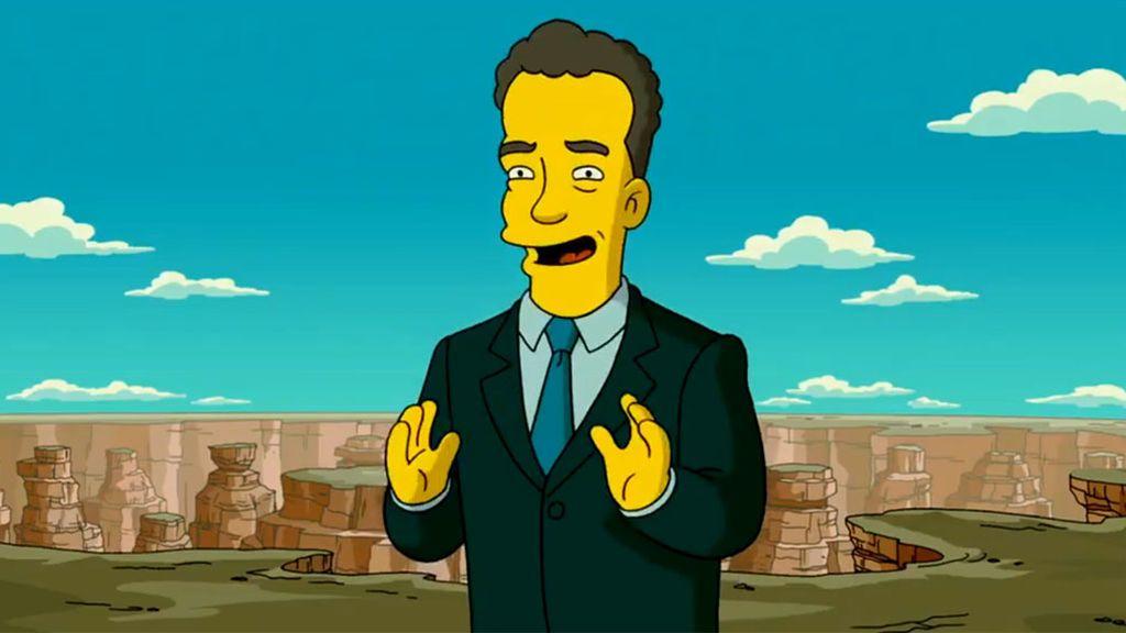 """Si, 'Los Simpsons' predijeron el """"aislamiento"""" de Tom Hanks por coronavirus"""