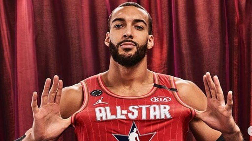 El jugador de baloncestoRudy Gobert