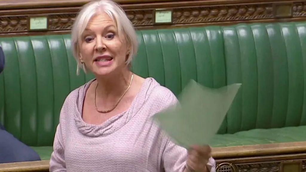 La ministra de Sanidad de Reino Unido,Nadine Dorries