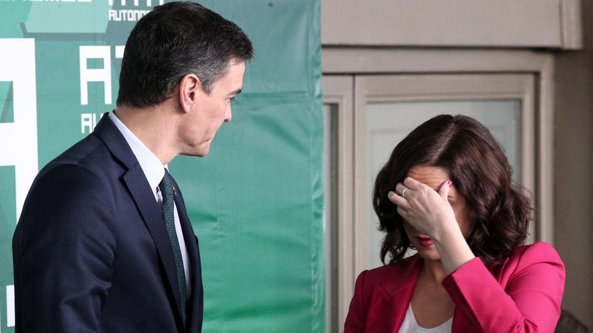 """Ayuso sobre el cierre de Madrid: """"No sé cómo se podría hacer"""", es """"competencia del Gobierno"""""""