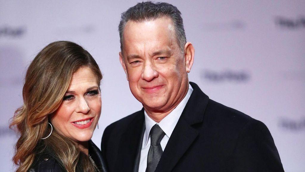 Tom Hanks y su mujer, la actriz Rita Wilson