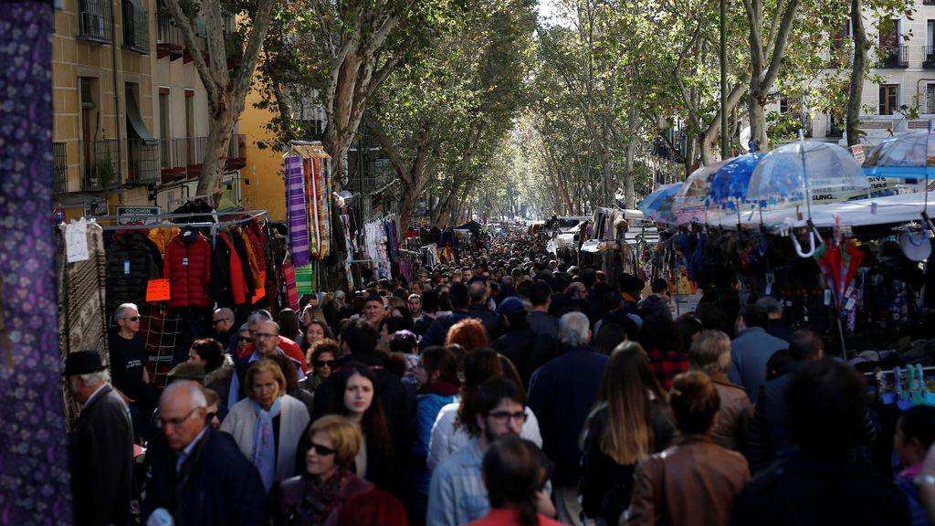 Madrid se queda sin El Rastro por el coronavirus