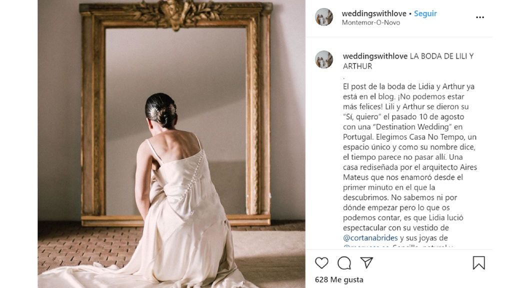 La empresa de wedding planner 'Weddings with love'.