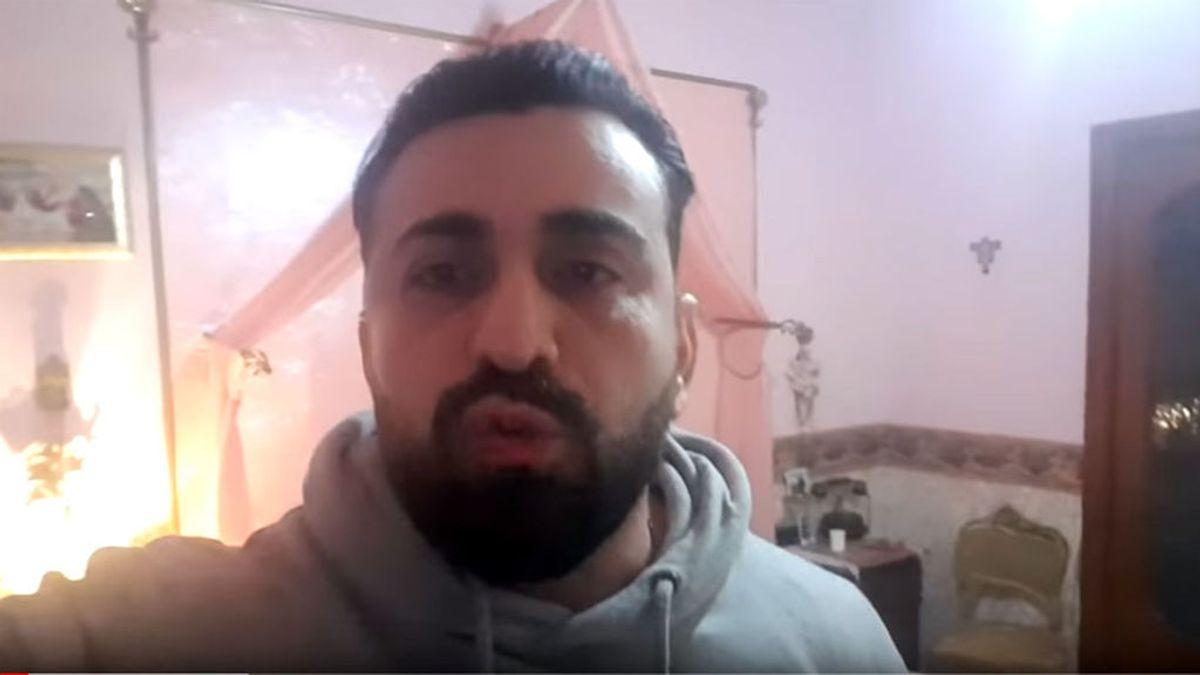 El vídeo desesperado de un actor italiano atrapado con el cadáver de su hermana fallecida por coronavirus