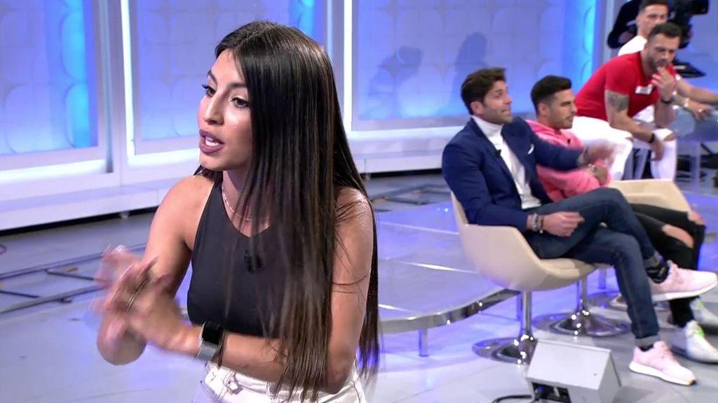 """El rebote de Cristina con Miguel de Hoyos y Efrén: """"Yo me piro del plató"""""""