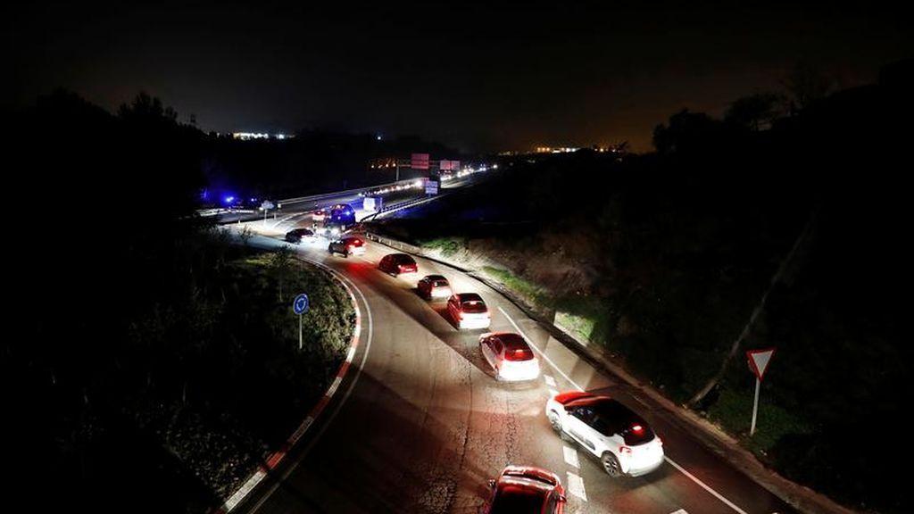 Control en la circulación del tráfico español