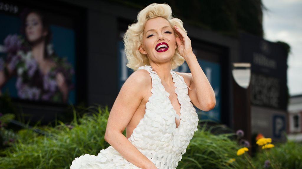 La icónica Marilyn Monroe también sufrió endometriosis.