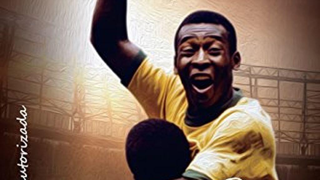 """""""Pelé, el rey del fútbol"""", libro sobre la historia de Pelé"""