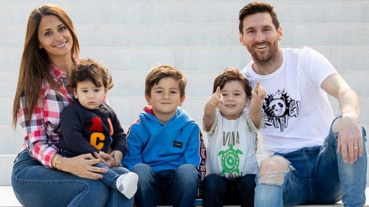 """La preocupación de Messi y Antonella por sus hijos y la epidemia del coronavirus: """"Conciencia"""""""