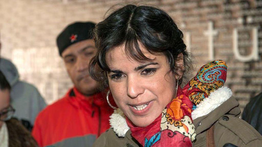 Confirman la pena de 13.800 euros al empresario que intentó besar a Teresa Rodríguez