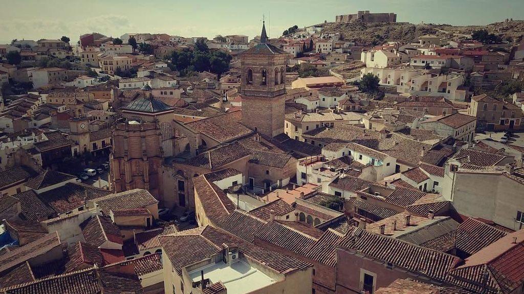 Los Aljibes, en un 'château' de La Mancha