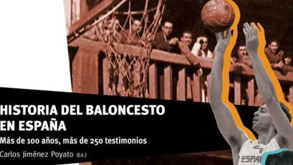 """""""Historia del baloncesto en España"""", libro escrito por Carlos Jiménez Poyato"""
