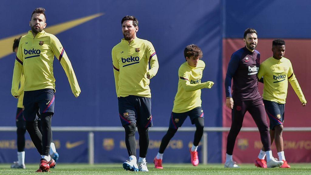 El Barça suspende los entrenamientos y toda actividad indefinidamente por el coronavirus