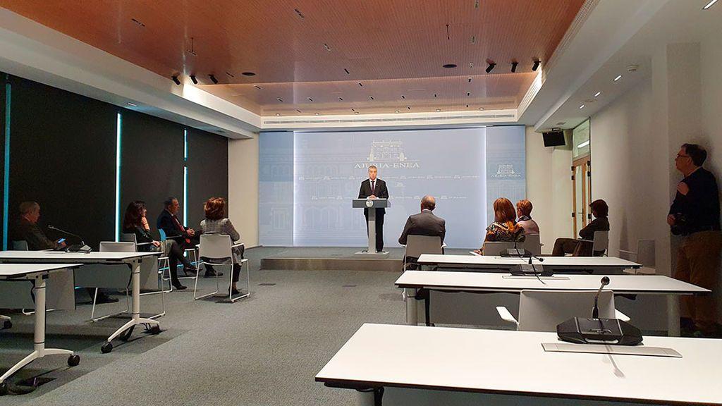 El lehendakari Urkullu declara emergencia sanitaria en Euskadi
