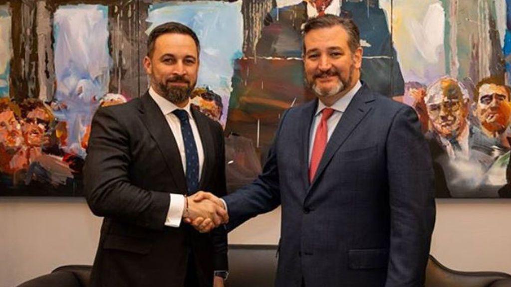 El senador republicano Ted Cruz amplía su cuarentena al conocer el positivo de Santiago Abascal