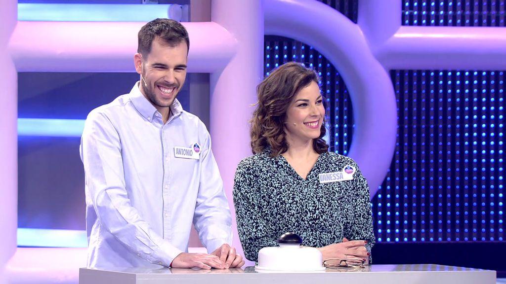 Antonio y Vanesa El concurso del año Temporada 1 Programa 383