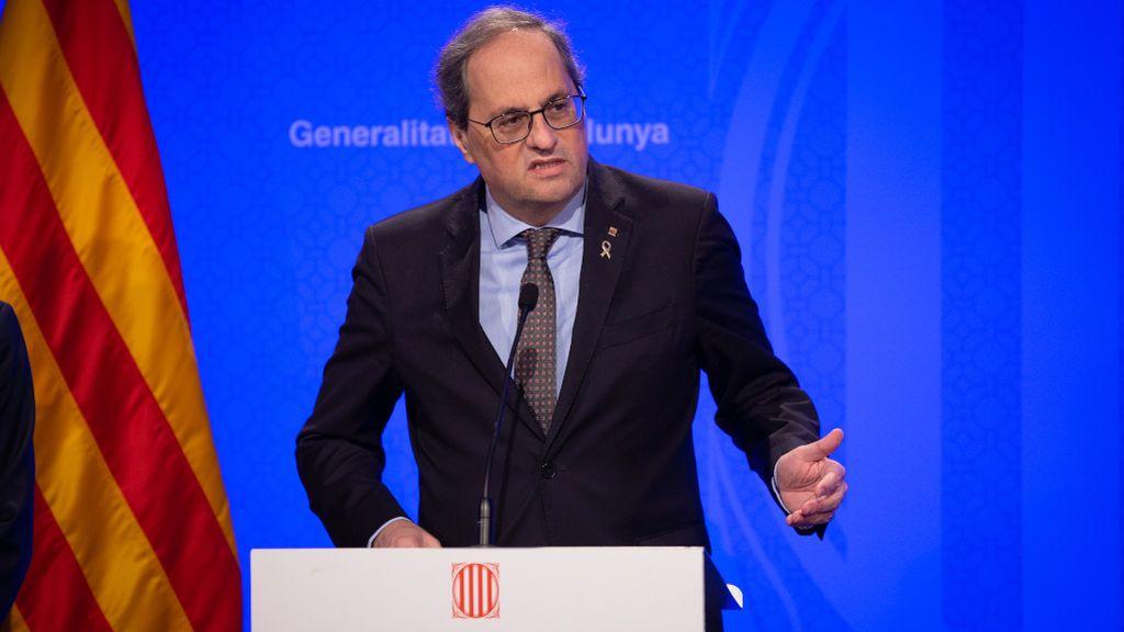 La Generalitat ordena el confinamiento de Cataluña