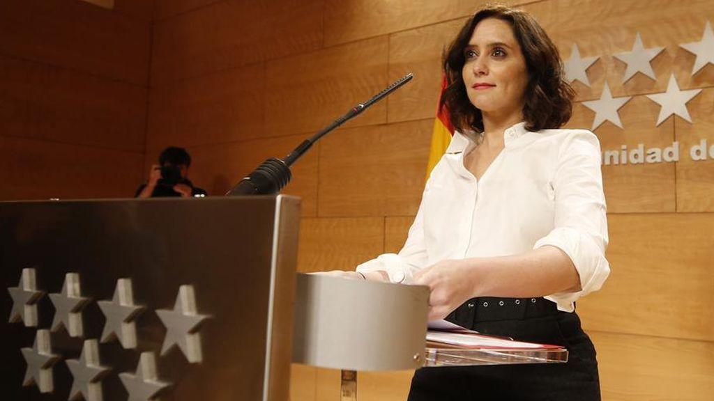 """Última hora del coronavirus: Isabel Díaz Ayuso: """"Rogamos a todos los madrileños no salir de casa"""""""