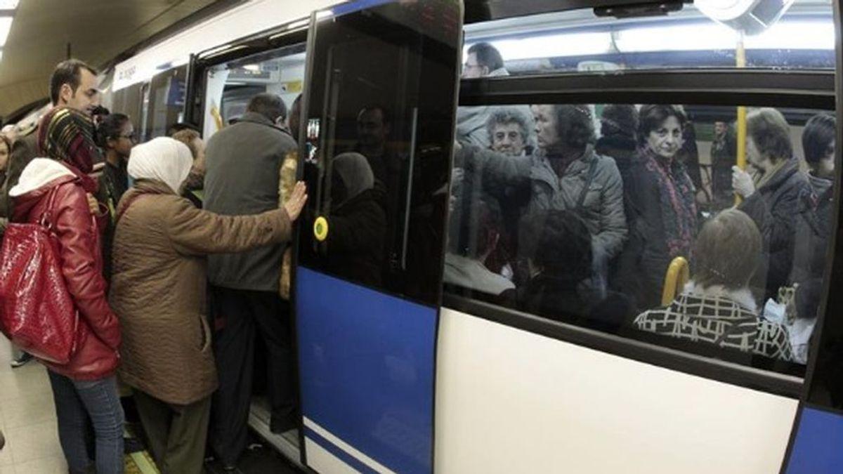 Los abonos transporte que hayan sido cargados y no utilizados serán compensados en Madrid