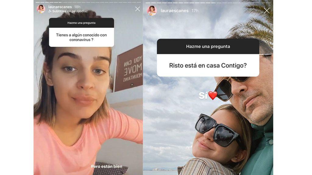 Laura Escanes confiesa que conoce a infectados por coronavirus