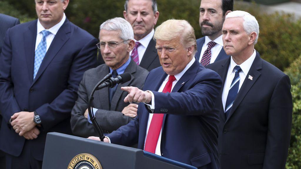 Trump anuncia que se ha sometido a la prueba del coronavirus