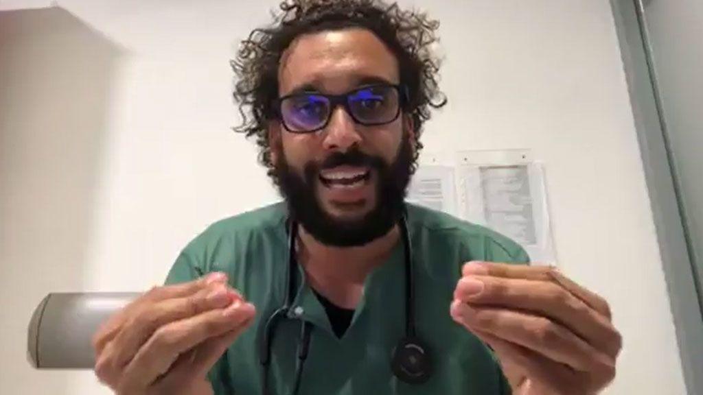 """Un médico de urgencias, a los centennials: """"El centro del mundo ahora son vuestros mayores, no vosotros"""""""