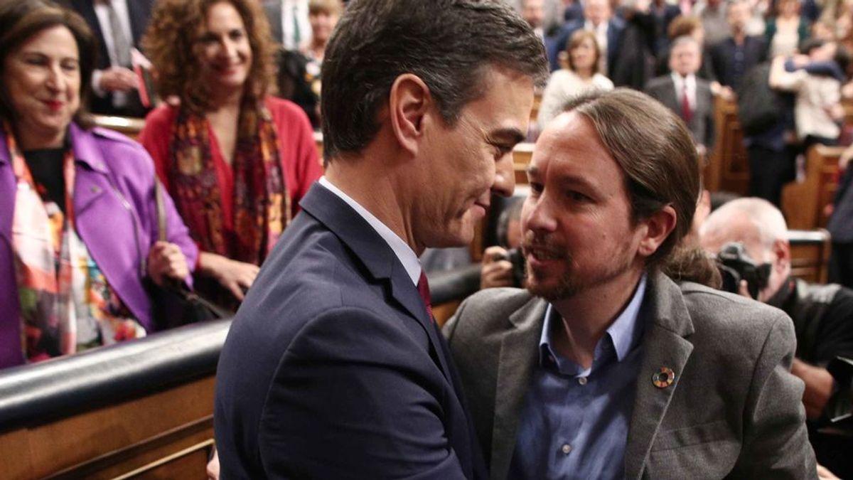 Pablo Iglesias abandona la cuarentena para asistir a la declaración del estado de alarma