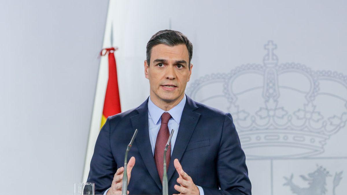 Pedro Sánchez comunica las medidas adoptadas por el Gobierno para aplicar el estado de alarma