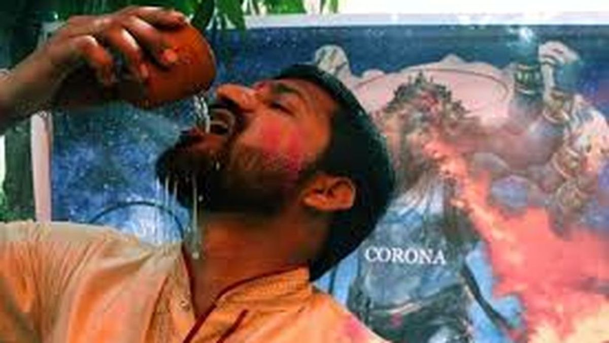 La orina de vaca, la bebida de moda en India para combatir el coronavirus