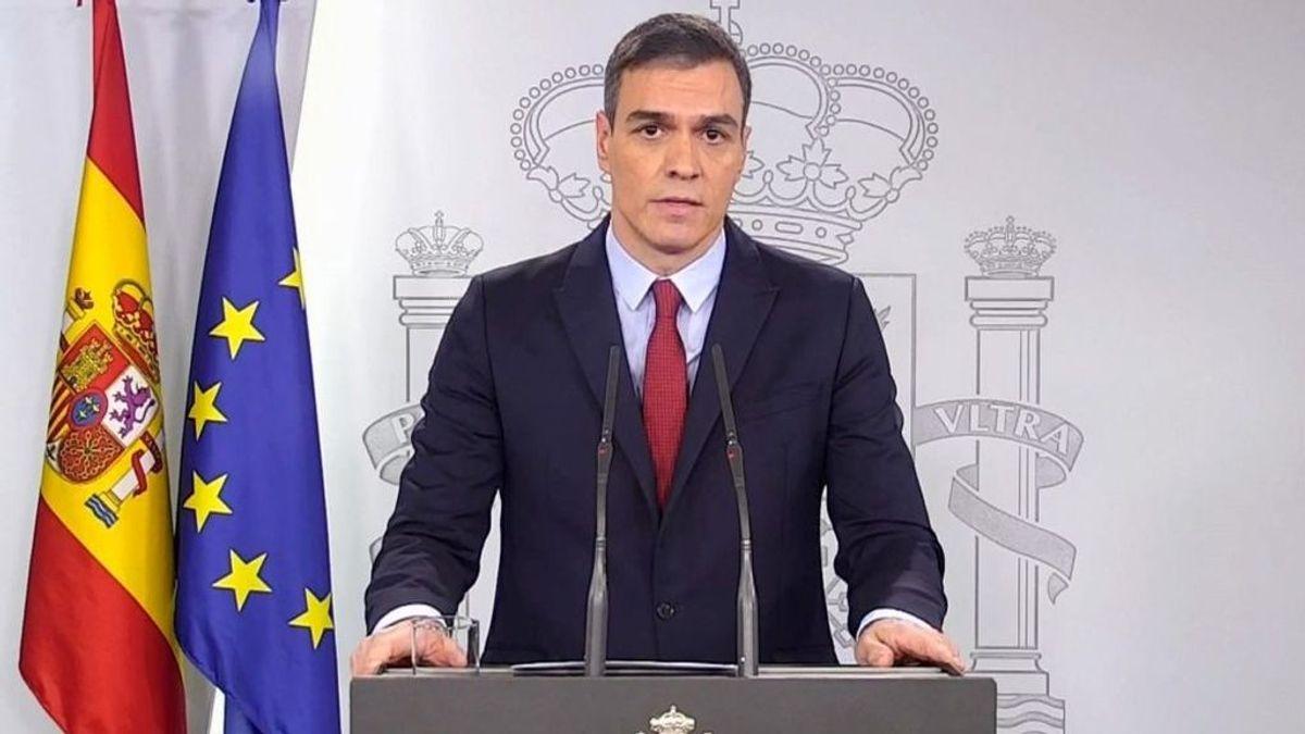 """Sánchez pide a los presidentes autonómicos aparcar sus diferencias: """"Ahora no hay territorios"""""""