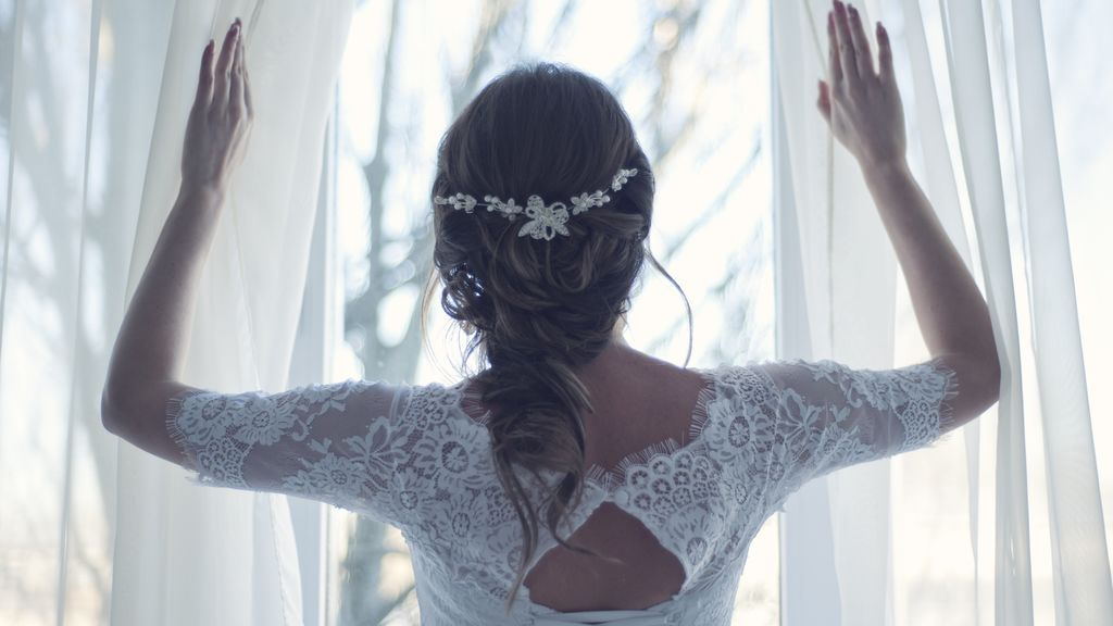novia ventana