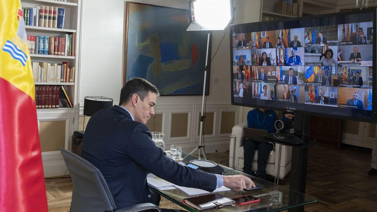 Sánchez firma con los presidentes autonómicos un compromiso de coordinación del que se autoexcluye Torra